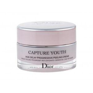Christian Dior Capture Youth Age-Delay Progressive Peeling Creme 50 ml denní pleťový krém na všechny typy pleti; na rozjasnění pleti