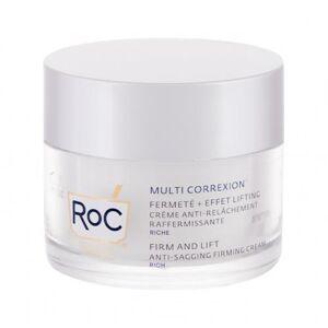 RoC Multi Correxion Firm And Lift Anti-Sagging Firming Cream Rich 50 ml denní pleťový krém na všechny typy pleti; výživa a regenerace pleti