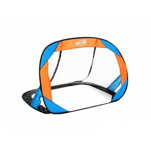 Branka fotbalová HASBRO BUCKLER NERF 2 ks modro-oranžová