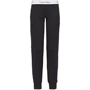 Calvin Klein Dámské tepláky Modern Cotton Line Extension Bottom Pant Jogger QS5716E-001 Black L