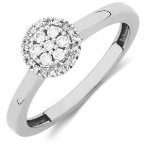 JVD Stříbrný prsten s krystaly SVLR0238XH2BI 56 mm