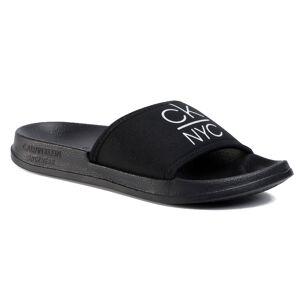 Calvin Klein Dámské pantofle Slide KW0KW01054-BEH Pvh Black 35-36