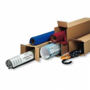 B2B Partner Kartonová krabice - tubus, podélné otevirání 500 x 100 x 100 mm