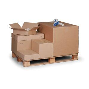 B2B Partner Kartonová krabice s klopami, 400x300x300 mm, 5-vrstvá lepenka, balení