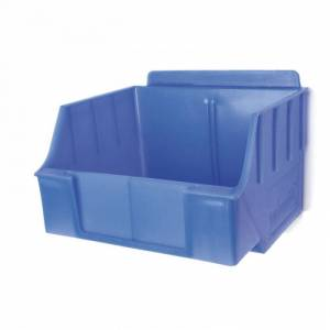 Reponio Plastový závěsný box spolia, 140 x 13 x 95 mm, modrý