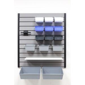 Reponio Plastový závěsný box pixina, 175 x 140 x 115 mm, transparentní