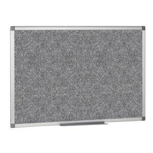 B2B Partner Textilní nástěnka, 900x600 mm, šedá