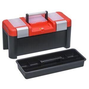 B2B Partner Plastový kufr na nářadí mcplus alu 25