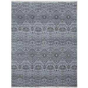 Diamond Carpets koberce Ručně vázaný kusový koberec Diamond DC-EKT L silver/black - 365x550 cm