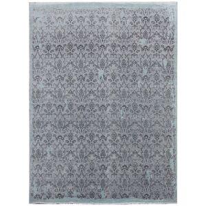 Diamond Carpets koberce Ručně vázaný kusový koberec Diamond DC-M 5 Light grey/aqua - 365x550 cm