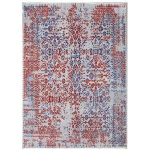 Diamond Carpets koberce Ručně vázaný kusový koberec Diamond DC-JKM Silver/blue-red - 365x550 cm