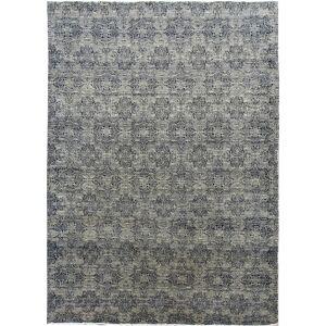 Diamond Carpets koberce Ručně vázaný kusový koberec Diamond DC-JK 1 SILVER/BLACK - 365x550 cm