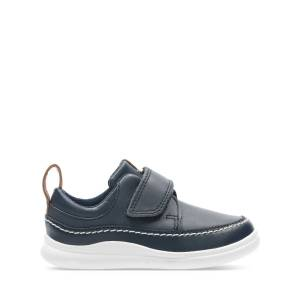 Clarks Trainers - Cloud Ember T Navy Leather 19