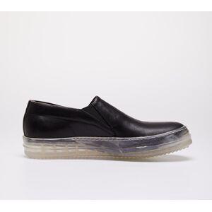 Rick Owens No Cap Boat Sneakers Black