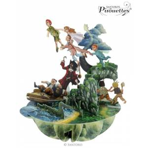 santoro london Santoro papírová 3D dekorace Peter Pan