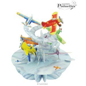 santoro london Santoro papírová 3D dekorace Planes