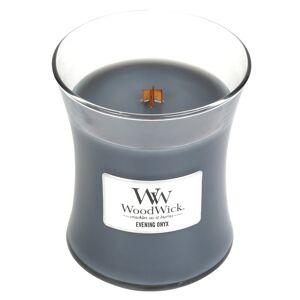 WoodWick vonná svíčka Evening Onyx střední váza