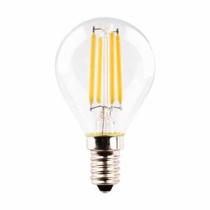 Müller-Licht LED žárovka E14 kapka 4W 2700K Filament čirá