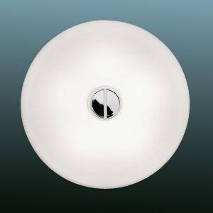 FLOS Tlačítko FLOS - jednoduché stropní svítidlo IP44