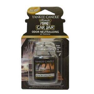Yankee Candle Gelová visačka YANKEE CANDLE Black Coconut