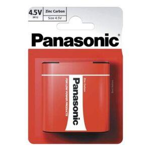 Hutla baterie Baterie Panasonic plochá Red Zinc-blistr 4,5V 1ks