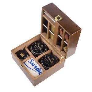 Saphir Luxusní mahagonová bedna pro péči o boty Saphir Medaille d'Or