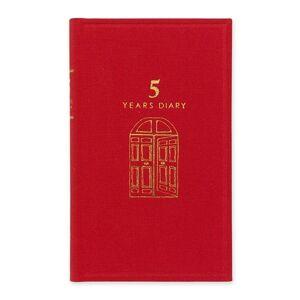 Midori pětiroční deník