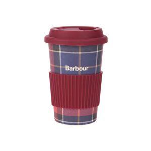 Barbour Cestovní tartanový hrnek Barbour - Red/Navy Tartan