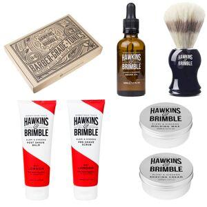 Hawkins & Brimble Šestičlenná dárková sada pro oholeného a upraveného muže Hawkins & Brimble