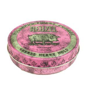Reuzel Pink Grease Heavy Hold - pomáda na vlasy (113 g)