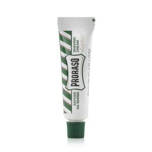 Proraso Cestovní osvěžující krém na holení Proraso Green - eukalyptus (10ml)