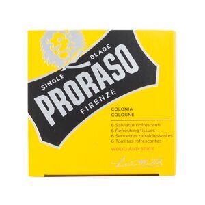 Proraso Osvěžující ubrousky Proraso - Wood & Spice (6 ks)