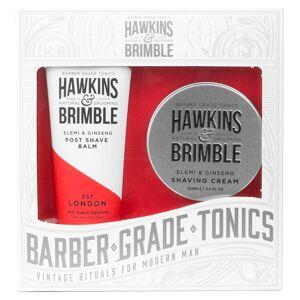 Hawkins & Brimble Dárková sada krému a balzámu po holení Hawkins & Brimble