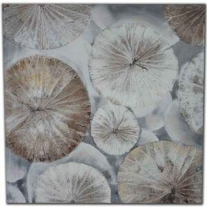 StarDeco Ručně malovaný obraz circles (80x80 cm)