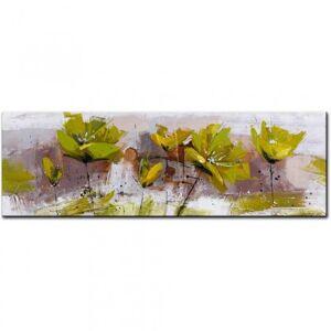 StarDeco Ručně malovaný obraz experimental (50x150 cm)