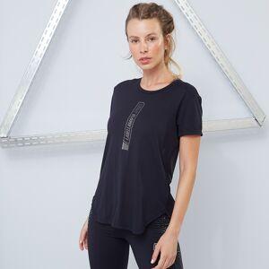 LABELLAMAFIA Dámské tričko Techwear Vibes black - LABELLAMAFIA