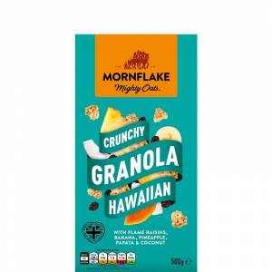 MornFlake Křupavá Granola Hawaiian 500 g - Mornflake