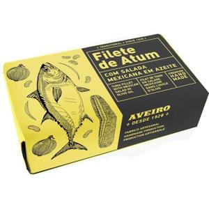 Aveiro Tuňákové filety v olivovém oleji Mexican salad 120 g - Aveiro