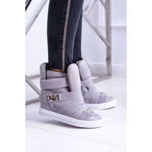 Kesi Women's Wedge Sneakers Lu Boo Grey Pumpes 40 čierna   šedá female