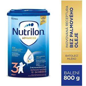 Nutrilon 3 Batolecí mléko 12+  800 g