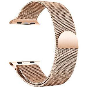 Eternico 38mm / 40mm Milanese růžovo zlatý pro Apple Watch
