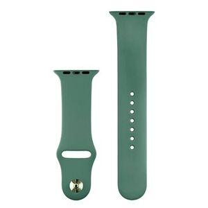 COTEetCI silikonový sportovní náramek pro Apple watch 38 / 40 mm jehličnatá zelená