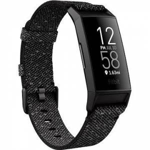 Fitbit Charge 4 Special Edition (NFC) - Granite Reflective Woven/Black