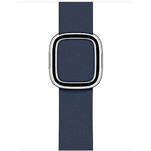 Apple 40mm řemínek s moderní přezkou hlubinně modrý – velký