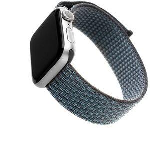 FIXED Nylon Strap pro Apple Watch 44mm/ Watch 42mm temně šedý