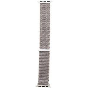 Tactical Látkový řemínek pro Apple Watch 38mm / 40mm Silver