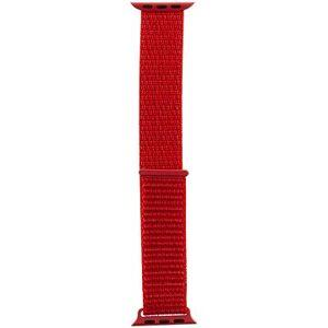 Tactical Látkový řemínek pro Apple Watch 42mm / 44mm Red