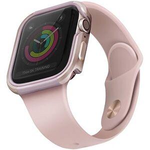 Uniq Valencia pro Apple Watch 44mm Blush Gold růžový