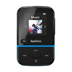 SanDisk MP3 Clip Sport Go2 32 GB, modrá