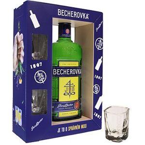 Jan Becher Becherovka 0,7l 38% + 2x sklo GB